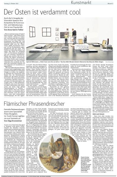Viennafair 2013Der Standard