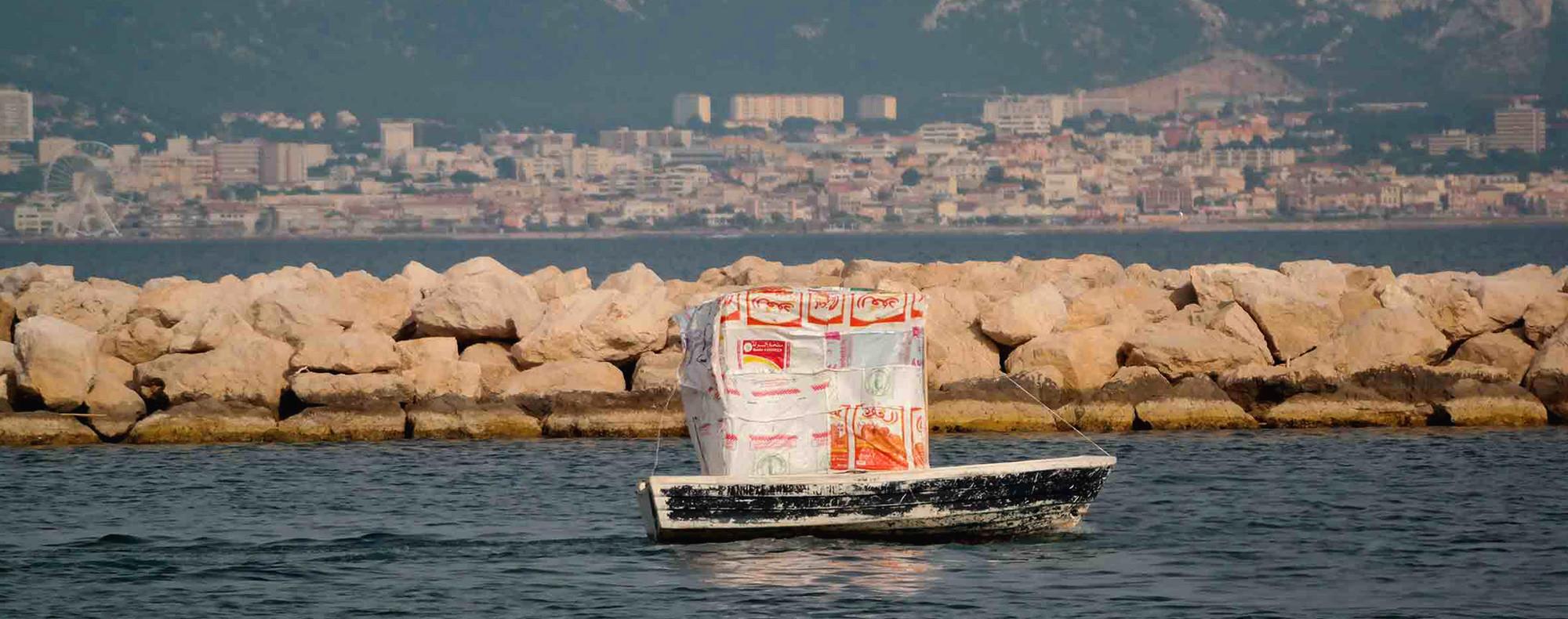 fliessende grenzen, ausstellung, galerie lisi hämmerle, 2015, katrin ströbel, Mohammed Laouli